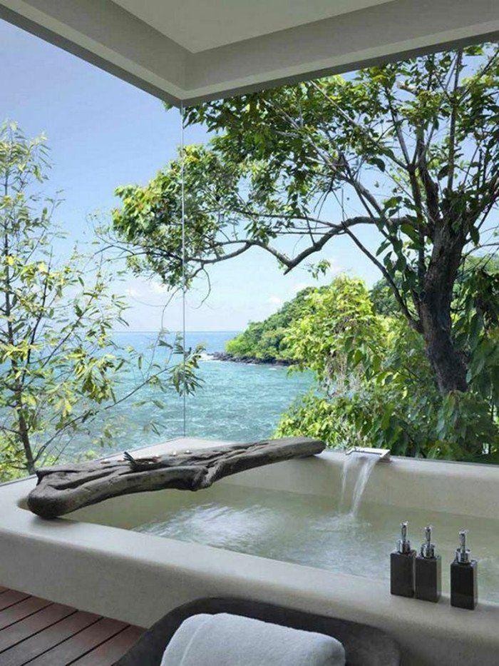 meuble salle de bain bois exotique pas cher salle de bain exotique avec vue. Black Bedroom Furniture Sets. Home Design Ideas