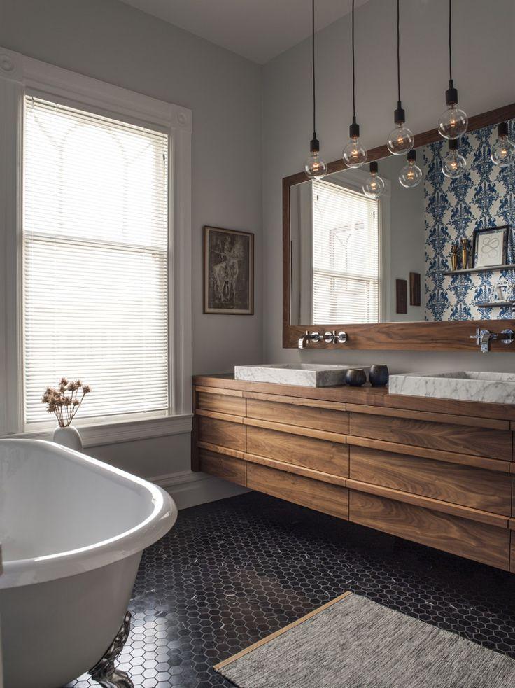 Idée décoration Salle de bain - mosaïque salle de bain ...