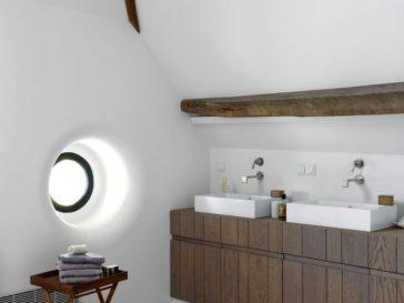 id e d coration salle de bain salle de bain avec grosse c ramique grisew avec douche vitr e et. Black Bedroom Furniture Sets. Home Design Ideas