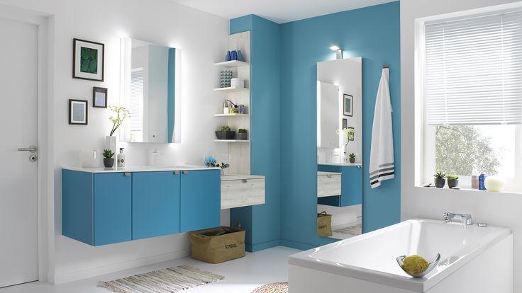 Idée décoration Salle de bain - Salle de Bain Color - Meuble de ...