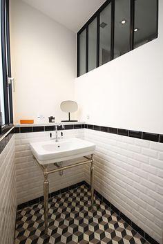 Idée décoration Salle de bain - Salle de bain retro - Atelier Joseph ...