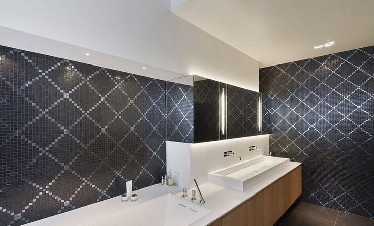 Id e d coration salle de bain salle de bain simple avec - Decor mural salle de bain ...