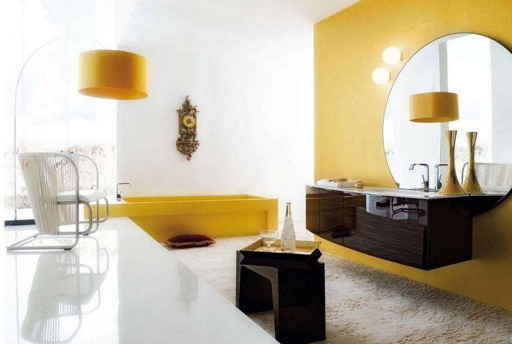 Idée décoration Salle de bain - salle de bains élégante avec ...