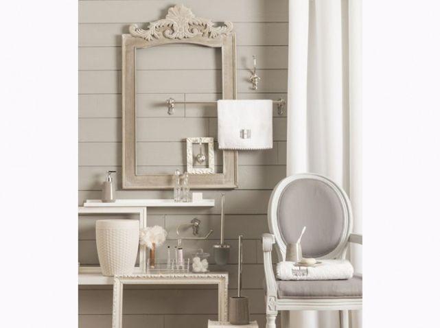 id e d coration salle de bain salle de bains romantique beige leading. Black Bedroom Furniture Sets. Home Design Ideas