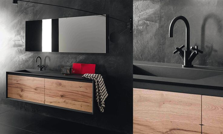 id e d coration salle de bain tendance salle de bain bois iks stocco. Black Bedroom Furniture Sets. Home Design Ideas