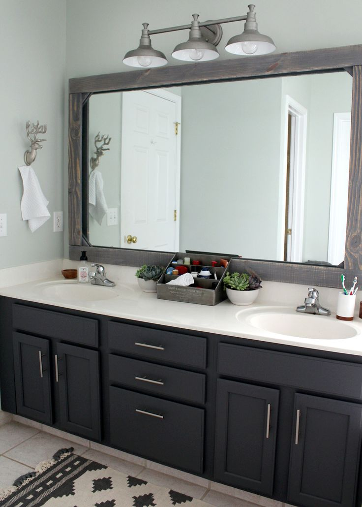 update your dated master bathroom on a 300 budget leading inspiration. Black Bedroom Furniture Sets. Home Design Ideas