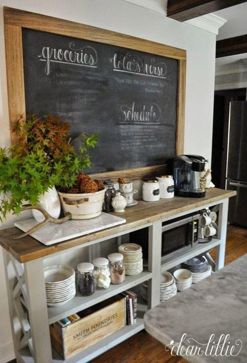 id e relooking cuisine 10 id es de tableau noir dans sa cuisine mes petites puces. Black Bedroom Furniture Sets. Home Design Ideas