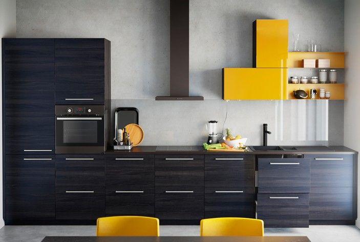 id e relooking cuisine am nager une cuisine en longueur. Black Bedroom Furniture Sets. Home Design Ideas