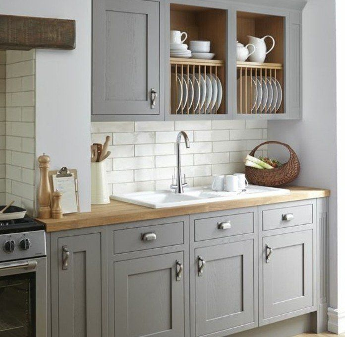 Turbo Idée relooking cuisine - cuisine joliment arrangée, exemple de  AN71