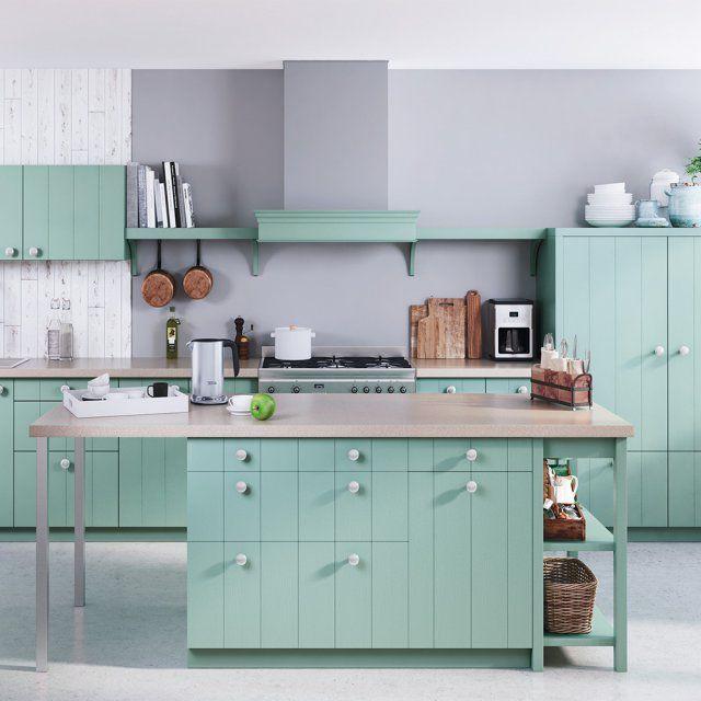 cuisine vert d eau les murs et seront couleur vert dueau