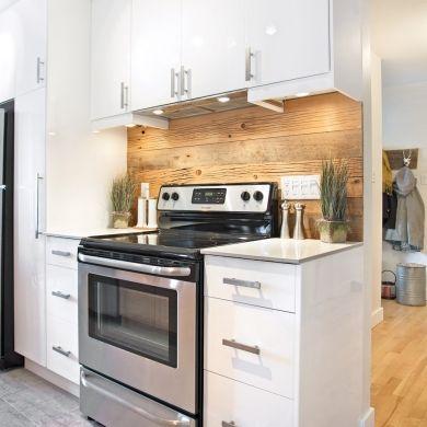 dosseret de bois dans la cuisine leading inspiration culture lifestyle. Black Bedroom Furniture Sets. Home Design Ideas