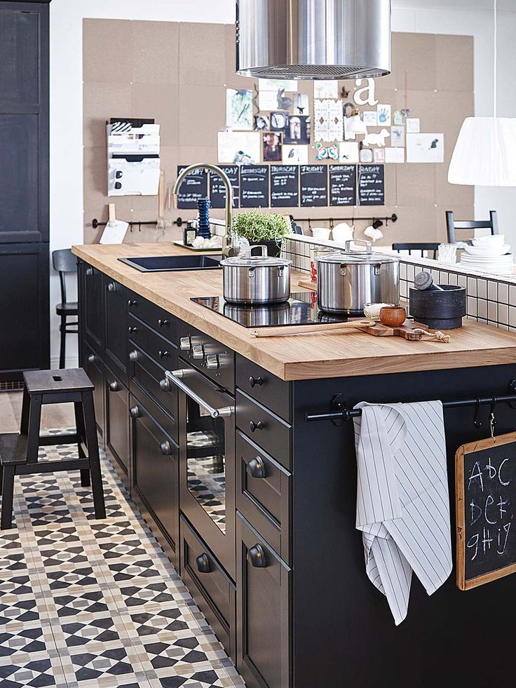 id e relooking cuisine grande cuisine ouverte de style industrielle www m. Black Bedroom Furniture Sets. Home Design Ideas