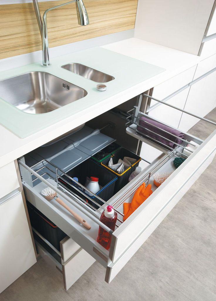 Id e relooking cuisine rangement cuisine les 40 meubles de cuisine pleins d 39 astuces - Idee meuble cuisine ...