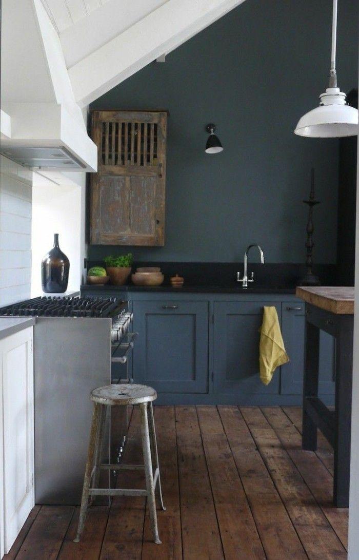 Idée relooking cuisine - repeindre ses meubles de cuisine, repeindre ...