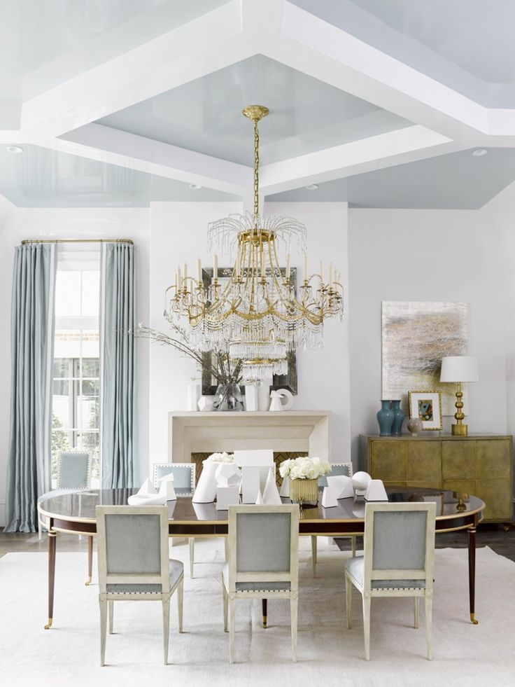 salle manger 12 swoon worthy interiors from the southeastern designer showhouse sarah. Black Bedroom Furniture Sets. Home Design Ideas