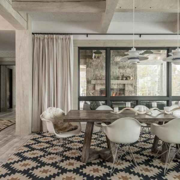 Kitchen Impossible Idee: Salle à Manger Design Contemporain En 35