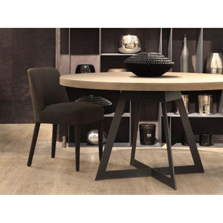 salle manger table de salle manger baron ronde. Black Bedroom Furniture Sets. Home Design Ideas