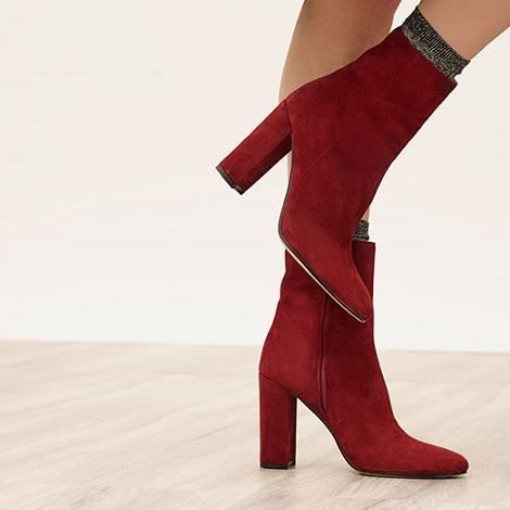 tendance chaussures 2017 bottines rouges chaussures. Black Bedroom Furniture Sets. Home Design Ideas