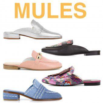 vente de sortie où puis je acheter nombreux dans la variété Tendance Chaussures 2017 - Les mules tendance chaussures ...