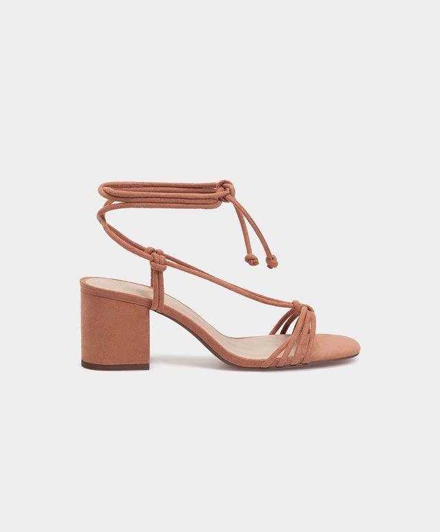 Description. Sandales lacées – Chaussures – Tendances printemps été 2017 en  mode femme ... 36c28a30ef33