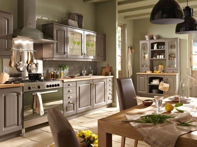 id e relooking cuisine la cuisine esprit campagne nous charme leading. Black Bedroom Furniture Sets. Home Design Ideas