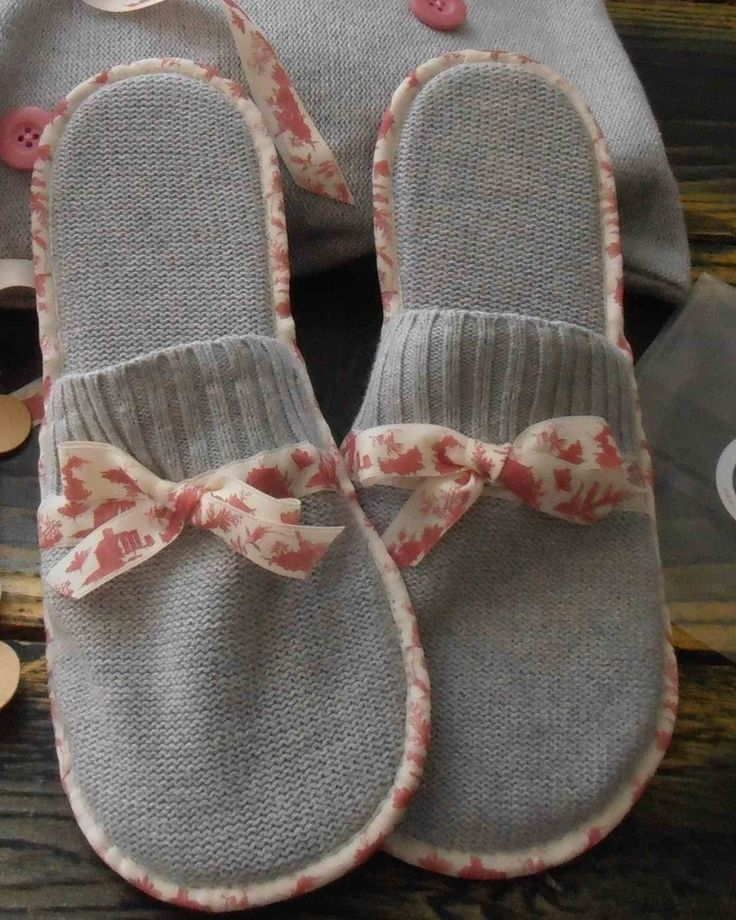 id es cadeaux pour la f te des m res 2017 des chaussons faits main et leur sac un petit. Black Bedroom Furniture Sets. Home Design Ideas