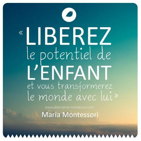 Citation La Pédagogie Montessori Listspirit Com