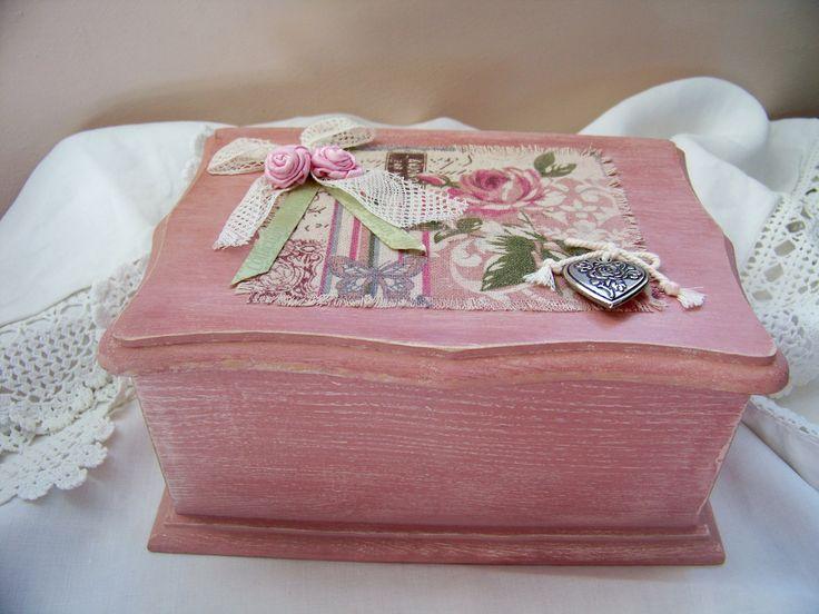 d co salon coffret en bois couleur rose camay patin bo te bijoux bo te sucre rangement. Black Bedroom Furniture Sets. Home Design Ideas