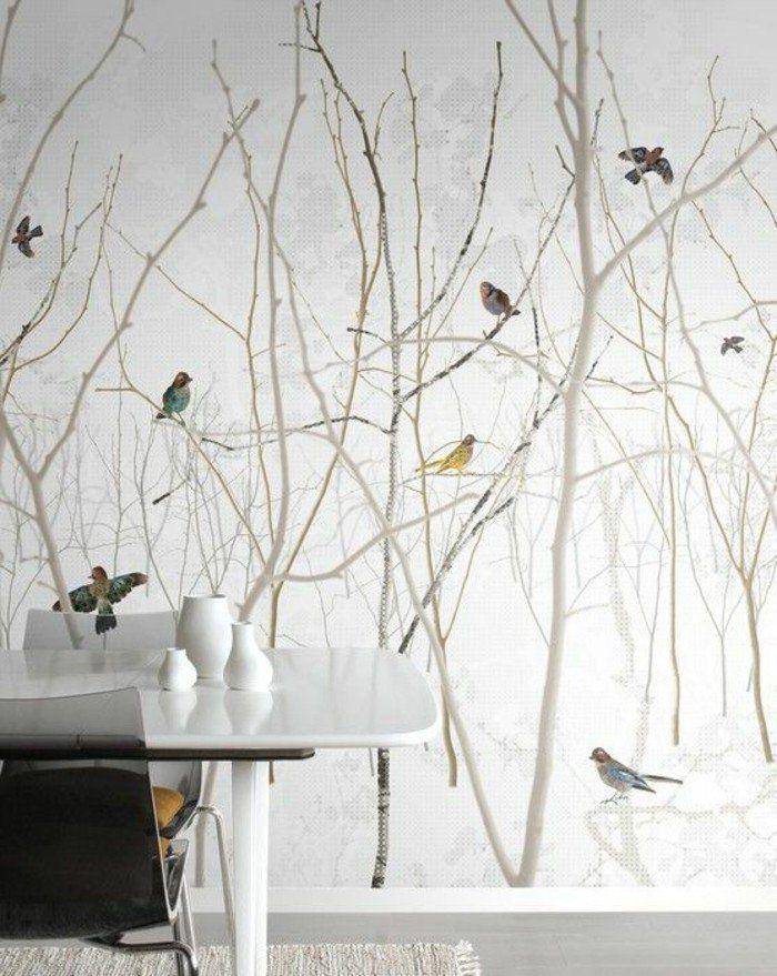 Deco Salon Papier Peint Salon De Style Scandinave Papier Peint