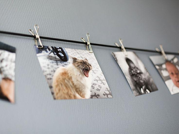 d coration mural simple comment exposer ses photos. Black Bedroom Furniture Sets. Home Design Ideas