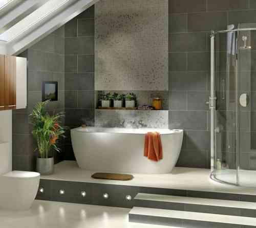 Idée décoration Salle de bain - carrelage de salle de bain ...