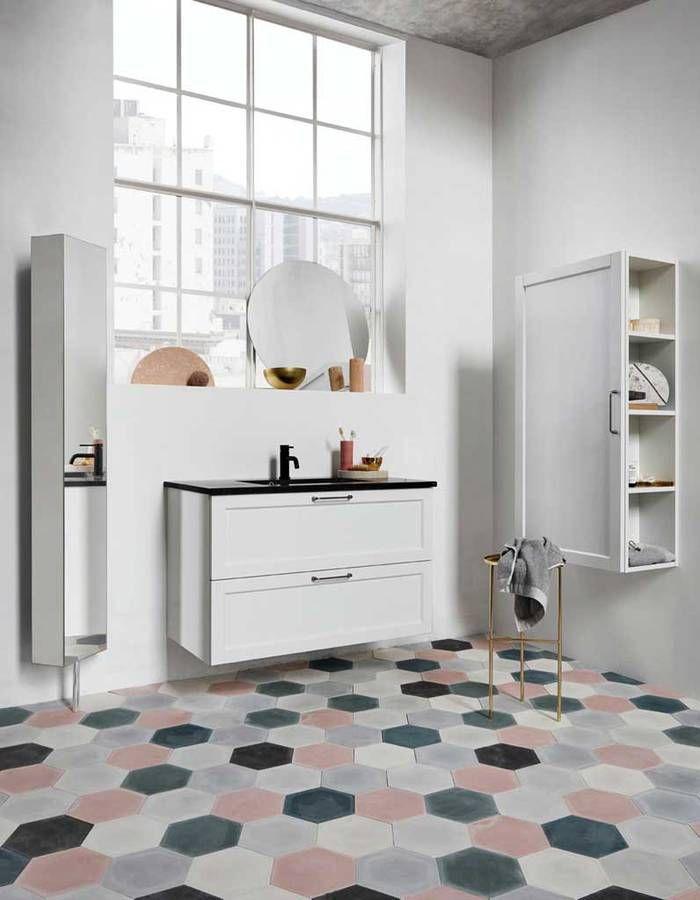 id e d coration salle de bain couleur salle de bains 15 astuces pour apporter de la couleur. Black Bedroom Furniture Sets. Home Design Ideas