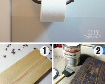 Idee Decoration Salle De Bain Easy To Build Diy Toilet