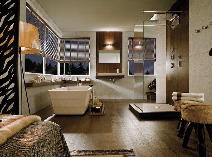 Id e d coration salle de bain id e d co salle de bain - Idee salle de bain bois ...