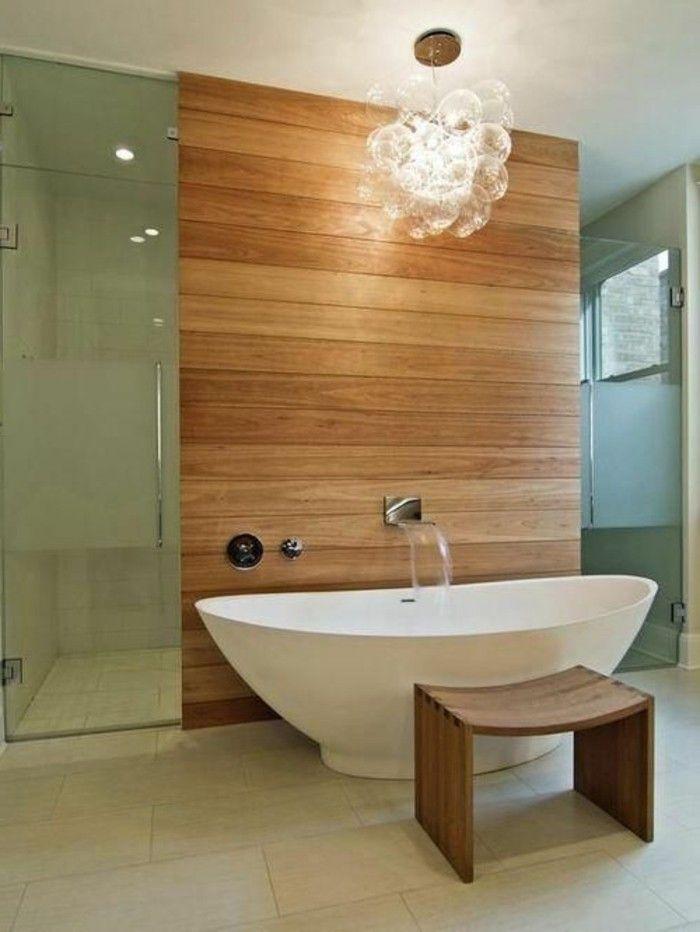 Id e d coration salle de bain la baignoire ovale les for Idee pour salle de bain