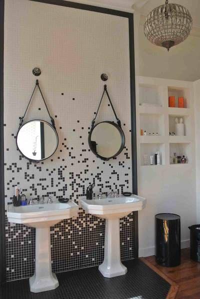 Id e d coration salle de bain miniature r novation d 39 un hotel particulier bordeaux ninou - Idee renovation salle de bain ...