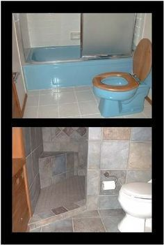 Id e d coration salle de bain nice nice a door less walk in shower that can be done in small - Salle de bain nice ...