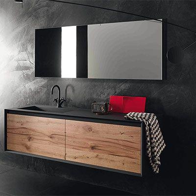 Id e d coration salle de bain pour une salle de bains au - Idees deco de salle de bain au style tropical ...