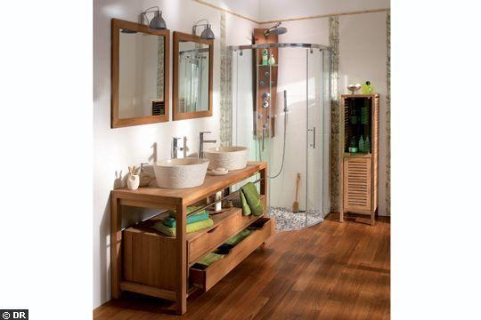 id e d coration salle de bain salle de bain bois et galet recherche google listspirit. Black Bedroom Furniture Sets. Home Design Ideas