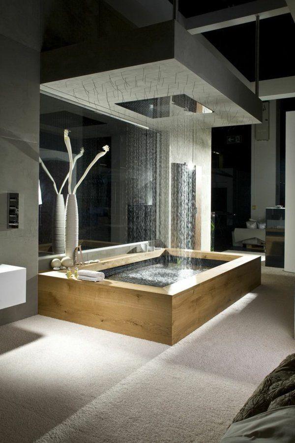 id e d coration salle de bain salle de bains grise salles de bains luxueuses et belles. Black Bedroom Furniture Sets. Home Design Ideas