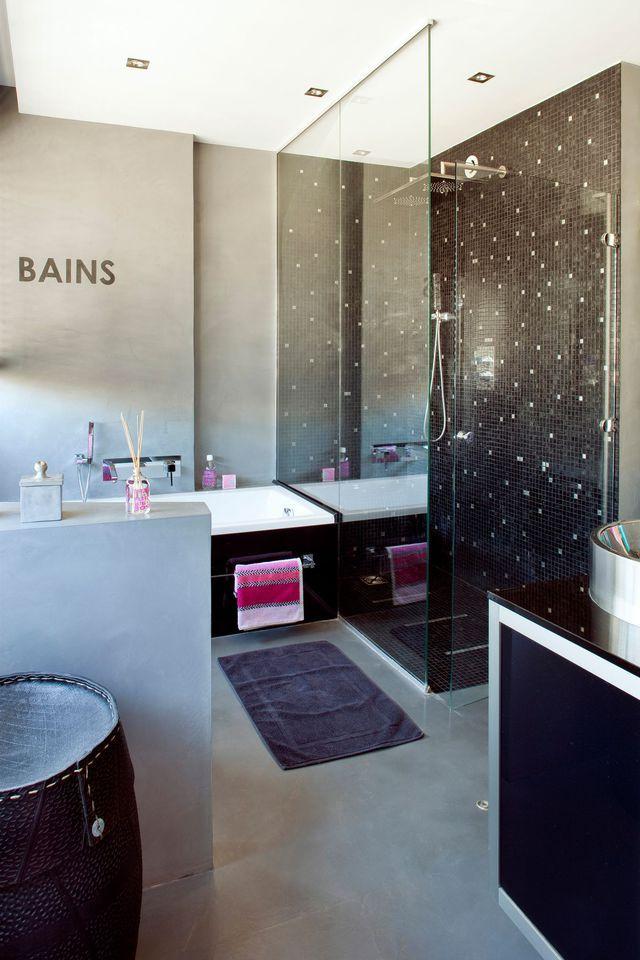 id e d coration salle de bain salle de bains ouverte sur la chambre suites parentales au top. Black Bedroom Furniture Sets. Home Design Ideas