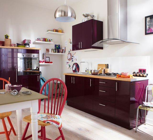 id e relooking cuisine cuisine am nag e conseil plan de travail rangement triangle d. Black Bedroom Furniture Sets. Home Design Ideas