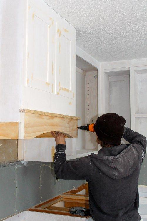 Idee Relooking Cuisine How To Diy Kitchen Range Hood For