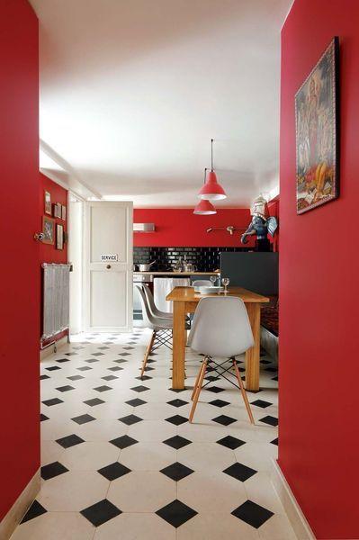 Mettre la couleur rouge dans la d co pourquoi c 39 est une mauvaise id e - Quelle couleur mettre dans une cuisine ...