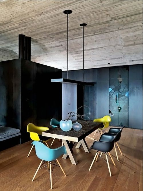 home design salle manger jeux de couleur bleu canard bleu clair et pistache listspirit. Black Bedroom Furniture Sets. Home Design Ideas