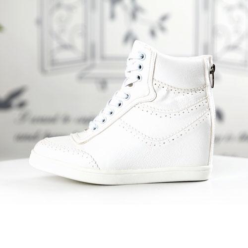 online store 5d89e e219f basket nike blanc compensée