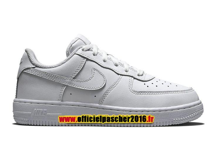 best sneakers 74b8f 67f95 Description. Nike Air Force 1 (PS) Chaussure Nike Sportswear Pas Cher Pour  Petit Enfant Blanc ...