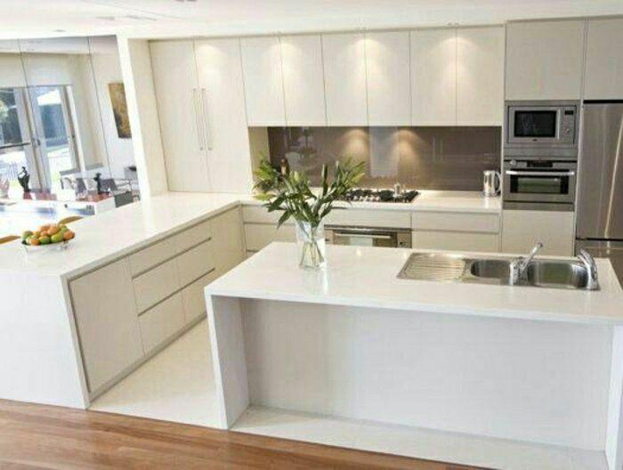 id e relooking cuisine 53 variantes pour les cuisines blanches leading. Black Bedroom Furniture Sets. Home Design Ideas
