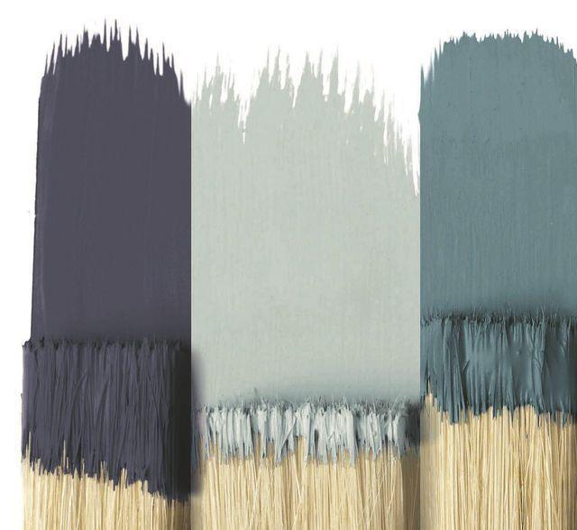 Déco Salon - Bleu dans la déco : osez la peinture bleue ...