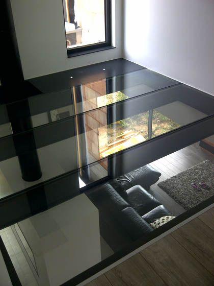 d co salon plancher en verre tri feuillet tremp leading inspiration. Black Bedroom Furniture Sets. Home Design Ideas